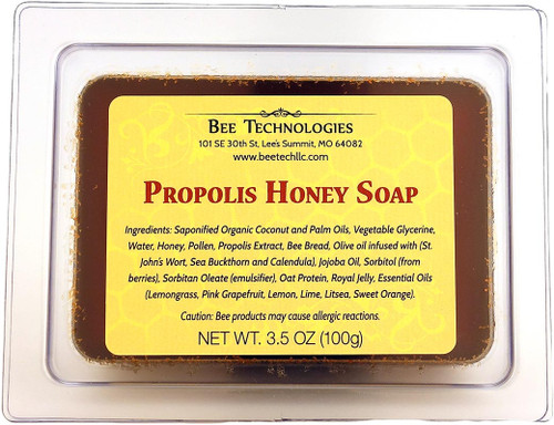 Propolis Honey Soap - 3.5oz