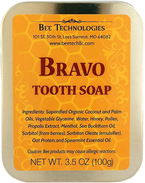 """BRAVO"" Tooth Soap - 3.5oz"