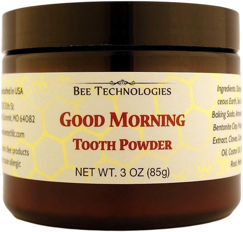 """GOOD MORNING"" Tooth Powder - 3oz"