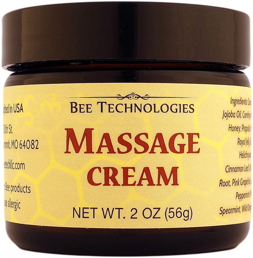 Massage Cream - 2oz