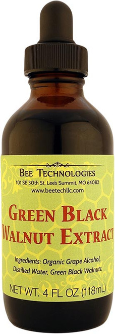 Green Black Walnut Extract - 4oz