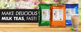 New MilkTeaBLAST powders make amazing milk teas, fast