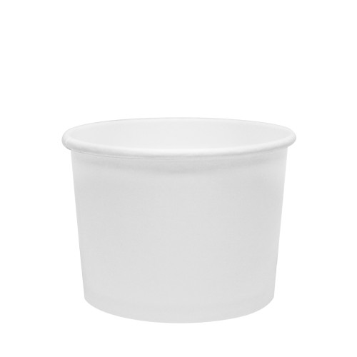 10oz Food Containers White 96mm 1000ct