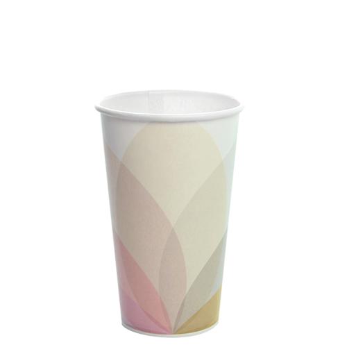 "Karat 16oz Paper Cold Cups ""KOLD"" 90mm 1000ct"