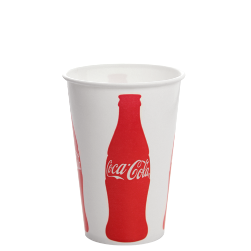 Karat 16oz Paper Cold CocaCola® Cups 90mm 1000ct