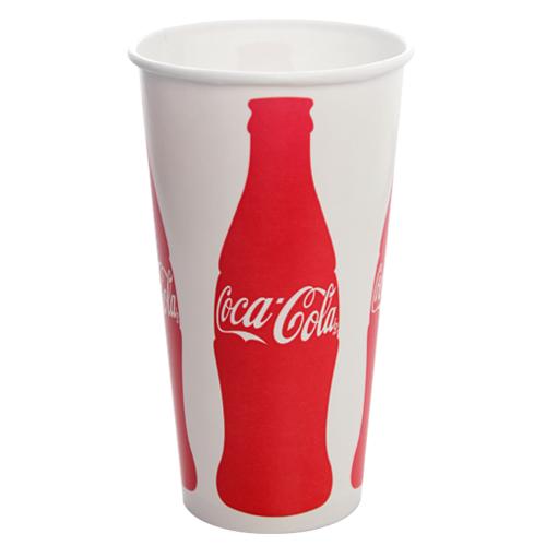 Karat 32oz Paper Cold CocaCola® Cups 104.5mm 600ct