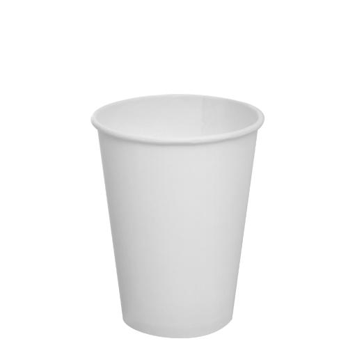 Karat 12oz Paper Hot Cups - White 90mm 1000ct