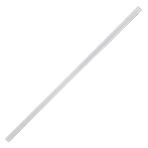 "7.75"" Jumbo Straws 5mm - Clear 12000ct"