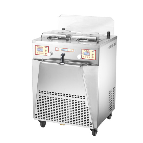 BGItaly 2 Pot Gelato Making Machine