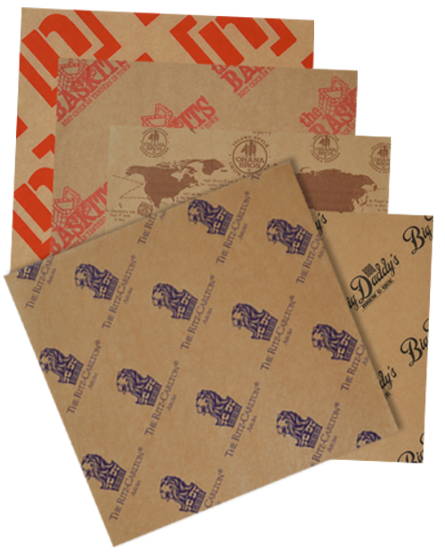 Custom Paper Food Sheets
