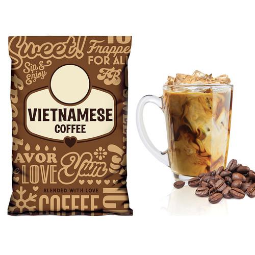 Vietnamese Coffee Gelato Mix - Frozen Bean