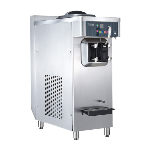 PASMO America 930 Countertop Soft-Serve Machine 1 Flavor WaterCooled w/ Airpump