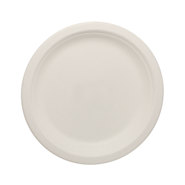 "Karat 7"" Compostable Bagasse Round Plates 1000ct"