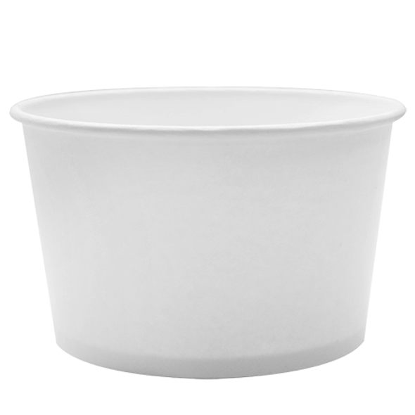 28oz Food Containers White 142mm 600ct