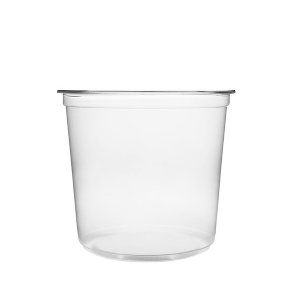 Karat 24oz Clear PP Deli To-Go Containers - 500ct