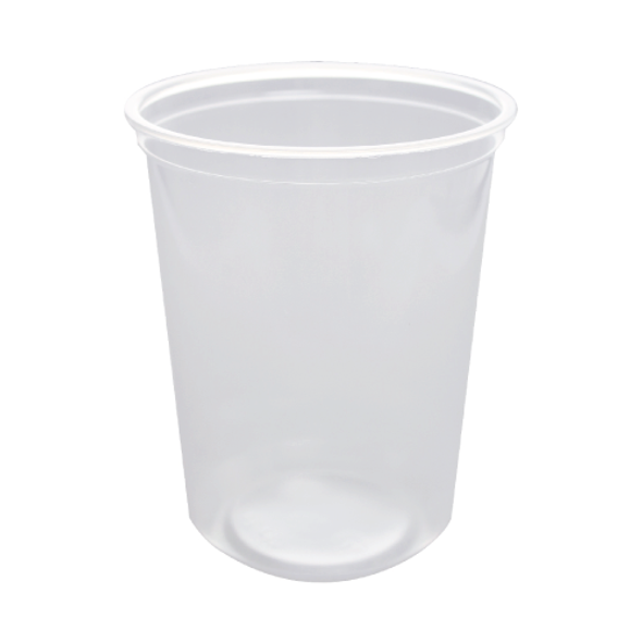 Karat 32oz Clear PP Deli To-Go Containers - 500ct