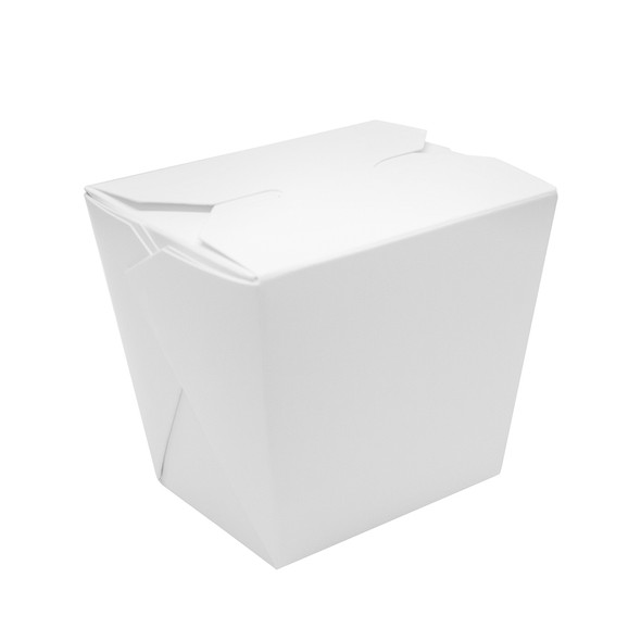 16oz Chinese Food Takeout Container White 450ct