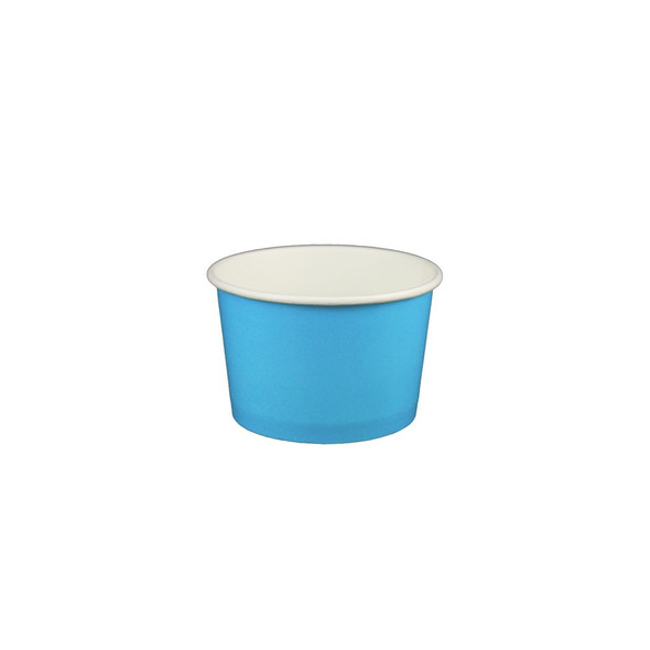 4oz Ice Cream/Froyo Cups 76mm 1000ct Blue