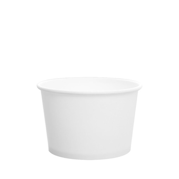 Karat 8oz Gourmet Food Container White 96mm 500ct