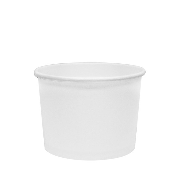 Karat 10/12oz Gourmet Container White 96mm 500ct