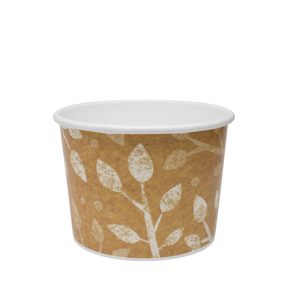 Karat 10/12oz Gourmet Container Leaf 96mm 500ct