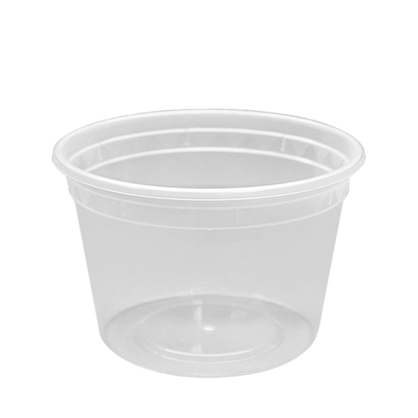 Karat 16oz Clear Deli To-Go Container & Lid 240ct