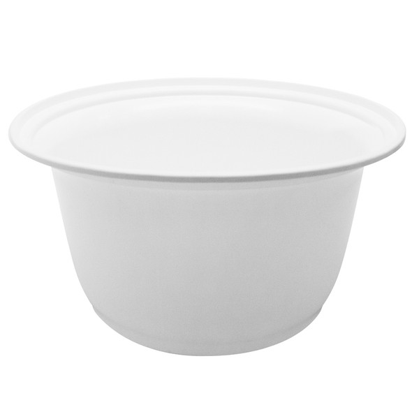 Karat 36oz PP Plastic To-Go Bowl White 300ct