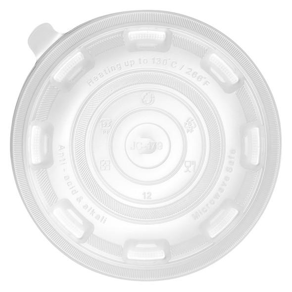 Karat Flat Lid for 36oz PP Plastic ToGo Bowl 300ct