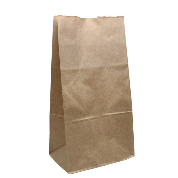 Karat 6lb Paper To-Go Food Bag - Kraft - 2000ct
