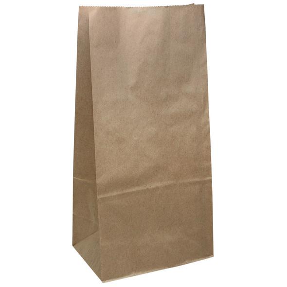 Karat 8lb Paper To-Go Food Bag - Kraft - 2000ct