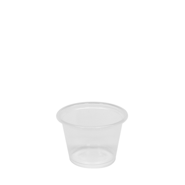 Karat 1oz Tall PP Portion Sample Cups Clear 2500ct