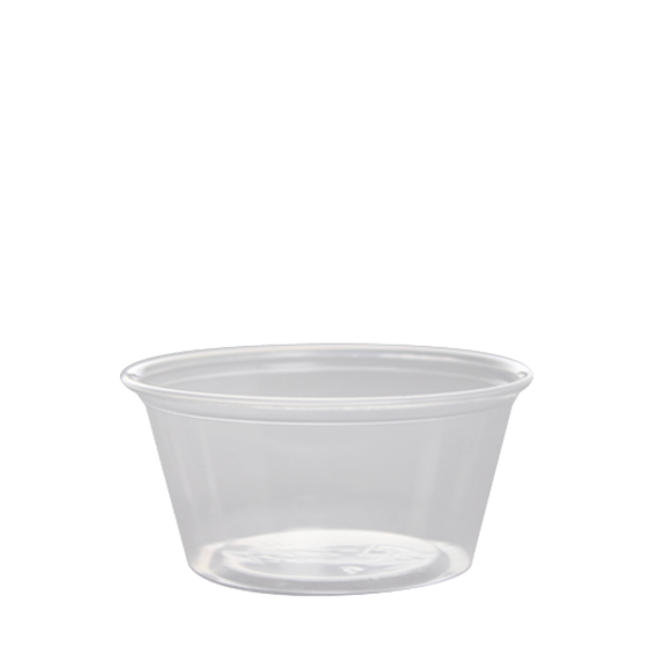 Karat 3.25oz PP Portion Taster Cups Clear 2500ct