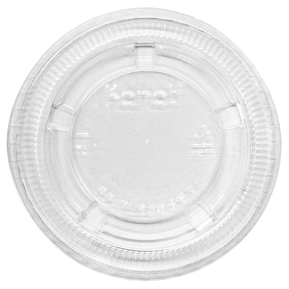 Karat 3.25 - 5.5oz PET Portion Cup Lids - 2500ct
