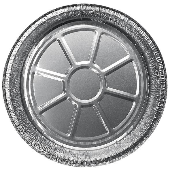 """Karat 9"""" Round Aluminum Foil To-Go Containers"""