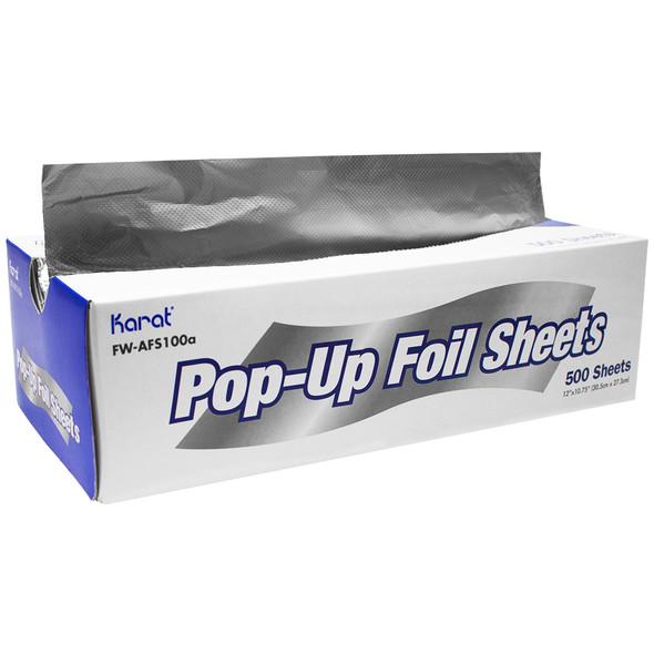 """Karat 12"""" x 10.75"""" Pop-up Aluminum Foil Sheets"""