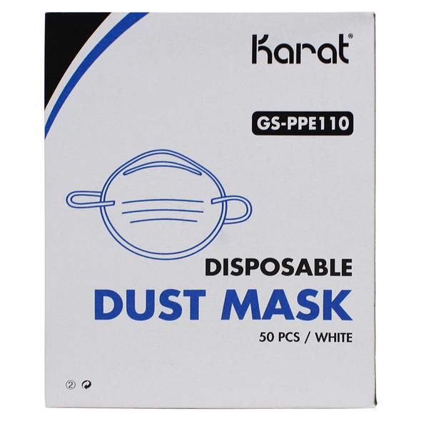 Karat Dust Mask - White - 1000ct