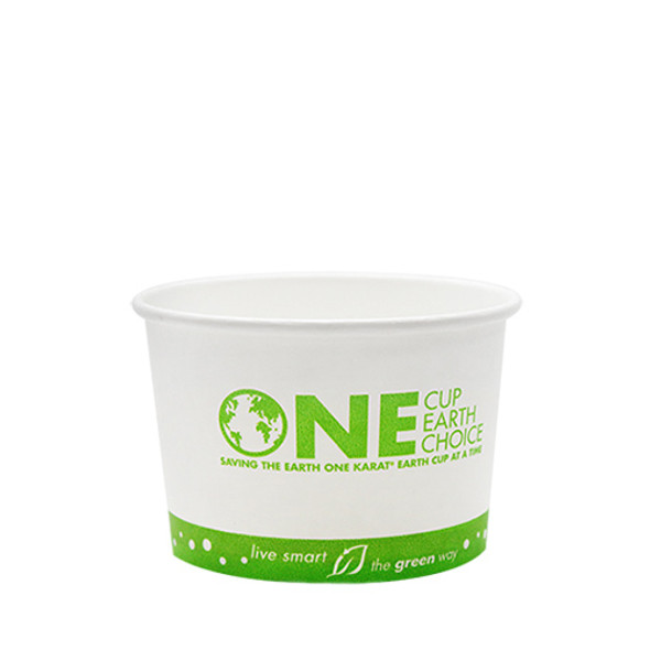 8oz Eco-Friendly Paper Containers 90.8mm 1000ct