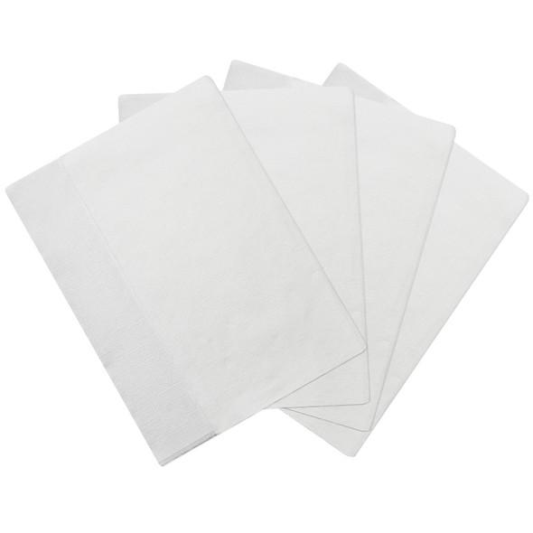 "Karat 12""x13"" Off-Fold Napkins - White - 6000ct"