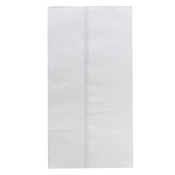 """Karat 13.5""""x7"""" Tall Dispense Napkin White 10,000ct"""
