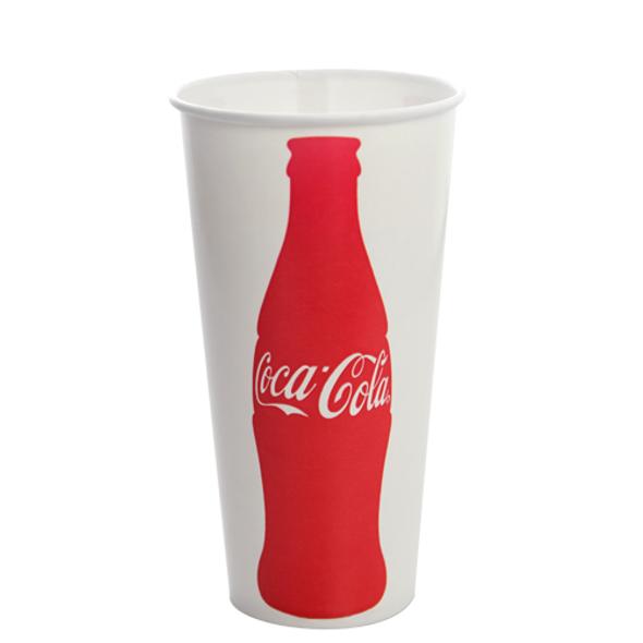 Karat 22oz Paper Cold CocaCola® Cups 90mm 1000ct