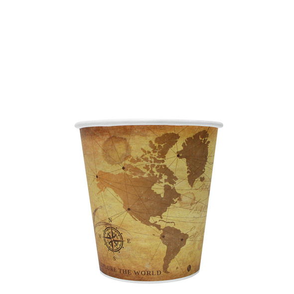 Karat 10oz Paper Hot Cups - Atlas 90mm 1000ct