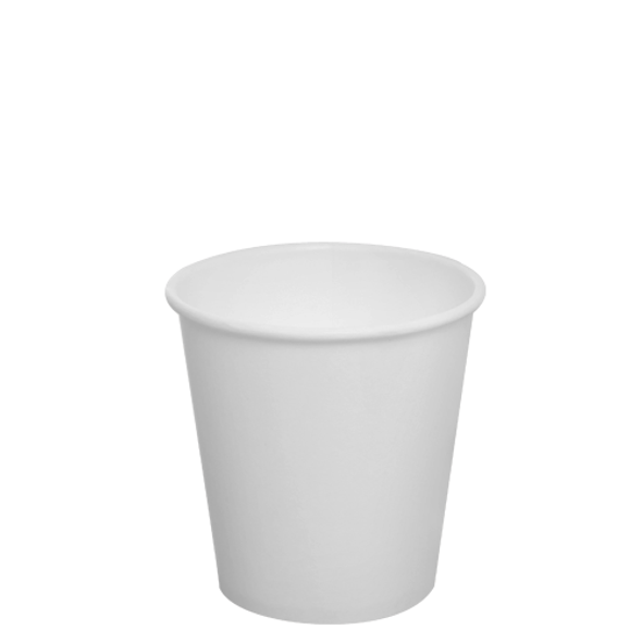 Karat 10oz Paper Hot Cups - White 90mm 1000ct