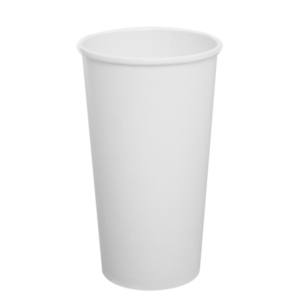 Karat 20oz Paper Hot Cups - White 90mm 600ct