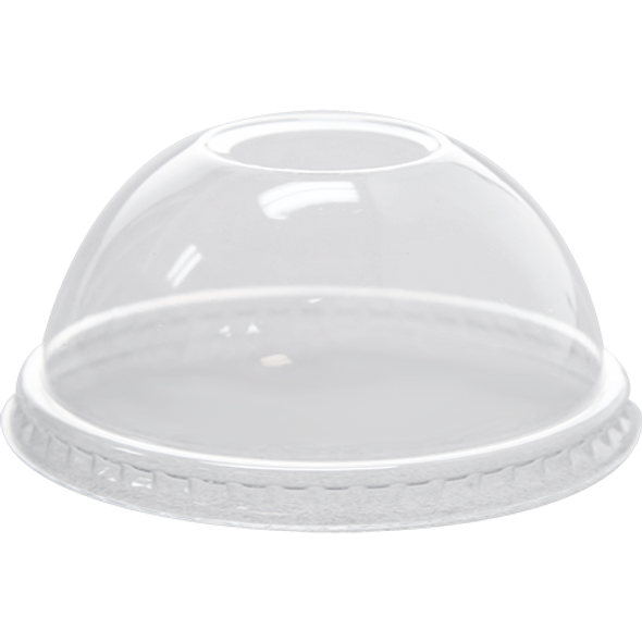 Karat 78mm PET Dome Lids - Clear 1000ct