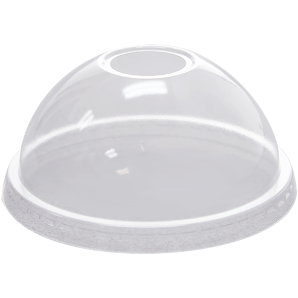 Karat 92mm PET Dome Lids - Clear 1000ct