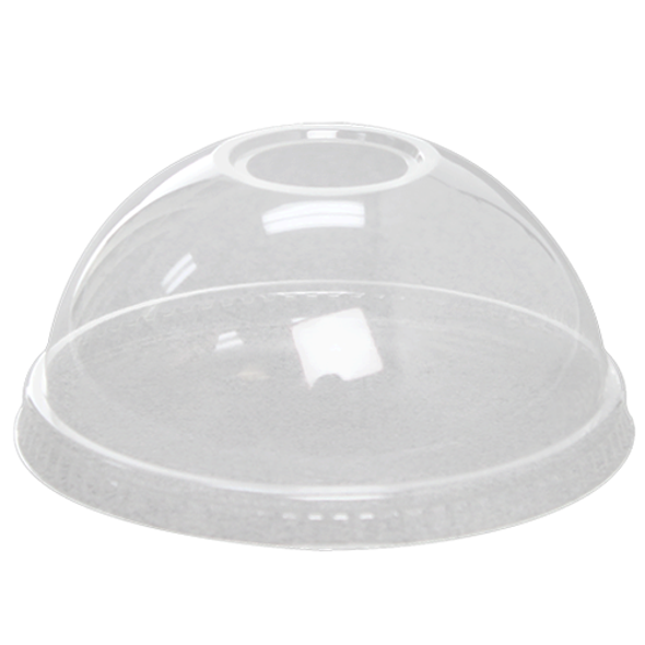 Karat 98mm Eco-Friendly Dome Lids w/ Hole 1000ct