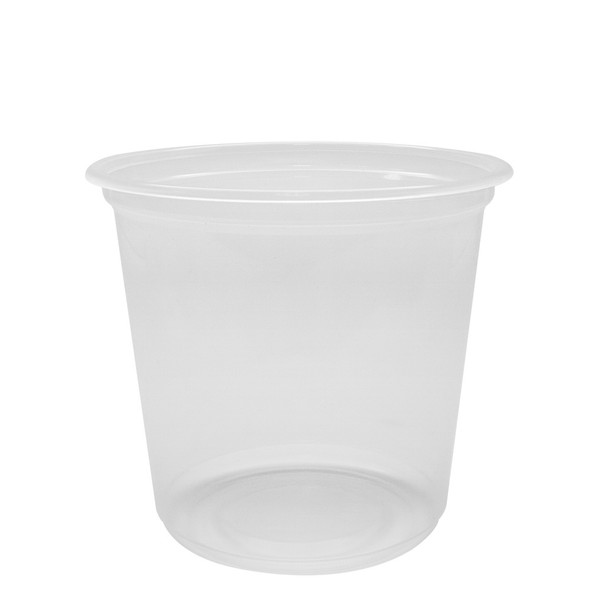 Karat 25oz Xtra Wide Flat Rim Cold Cup 120mm 500ct