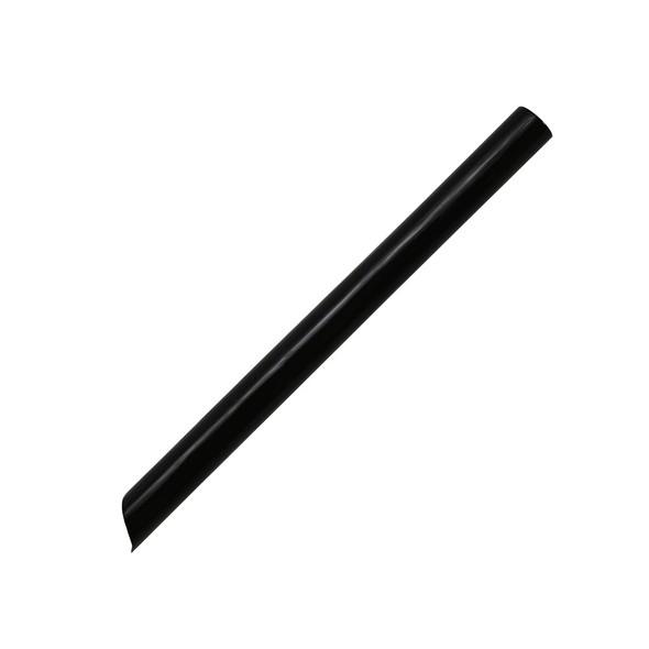 "5.75"" Boba Sample Straws - 10mm Black 2000ct"