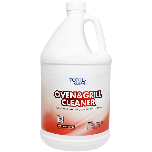 Total Clean Oven & Grill Cleaner - 1Gal 4ct