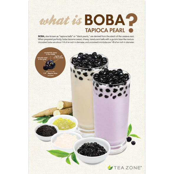 "TeaZone ""What is Boba?"" Poster"